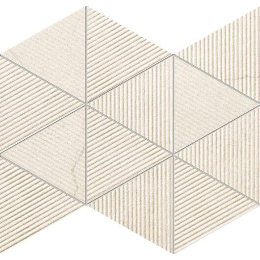 Tubadzin M-Clarity Beige 25,8x32,8 cm mozaik csempe