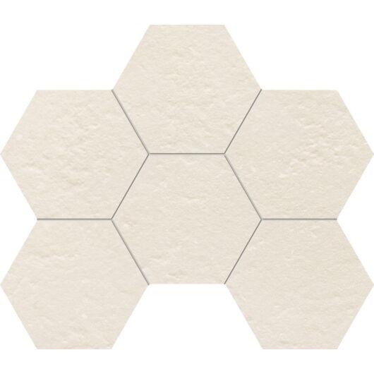 Tubadzin M-Crude Hex Grey 22,1x28,9 cm mozaik csempe