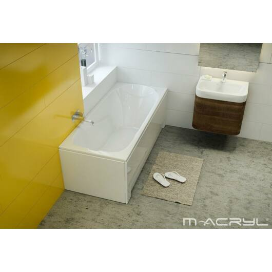 M-Acryl Sortiment egyenes kád 160x75 cm 200 l